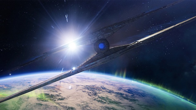 The Almighty approaches Earth in 'Destiny 2'