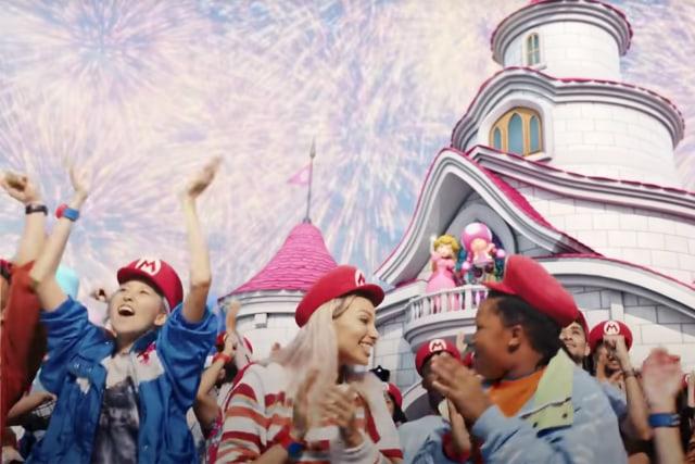 Super Nintendo World theme park introduction