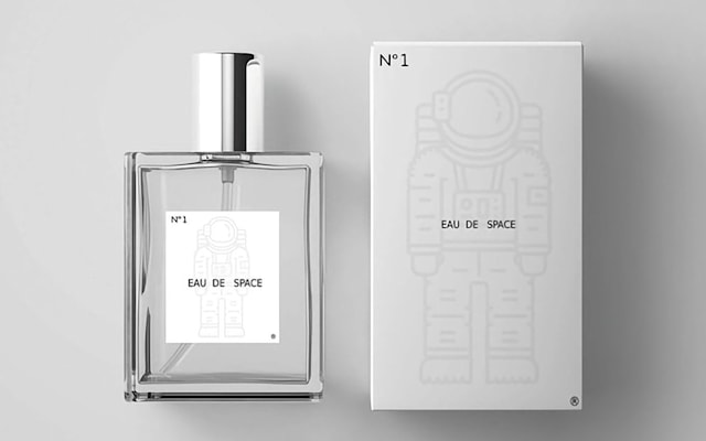 Eau de Space bottles NASA's 'smell of space' scent.