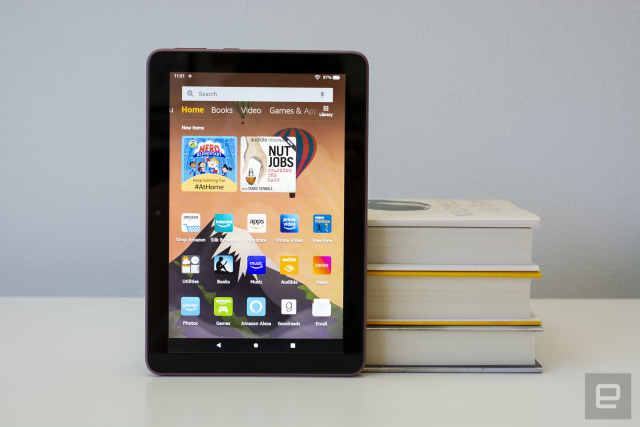 Amazon has a big sale on its Fire tablets and Fire TV products
