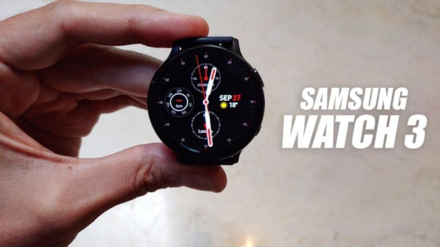 Samsung galaxy watch 3 leak
