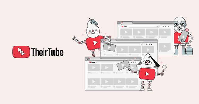 An illustration from the TheirTube website.