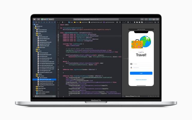 Apple Develop in Swift