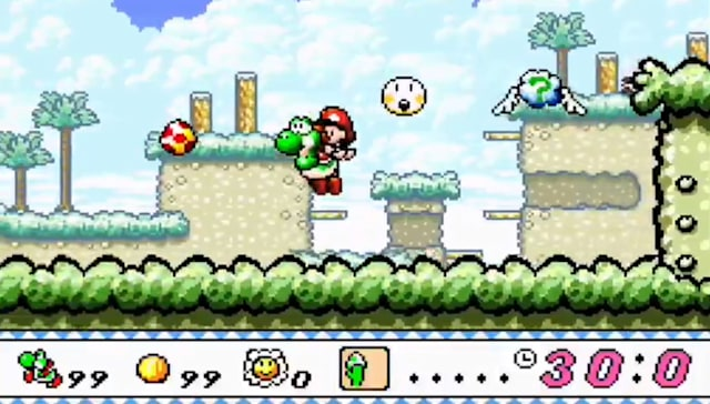 Prototype of 'Yoshi's Island' from Nintendo leak