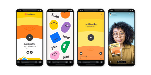 Snapchat Snap Minis