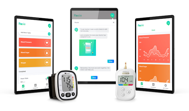 Lenovo virtual care for chronically ill patients