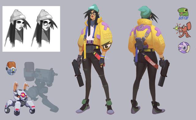 Killjoy concept art
