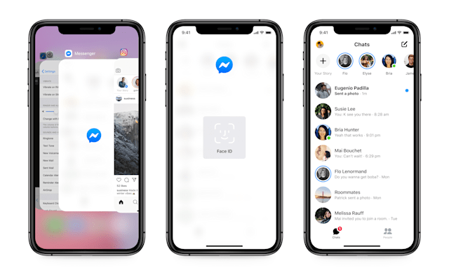"Facebook Messenger's ""app lock"" feature is official on iOS and will be on Android ""soon."""