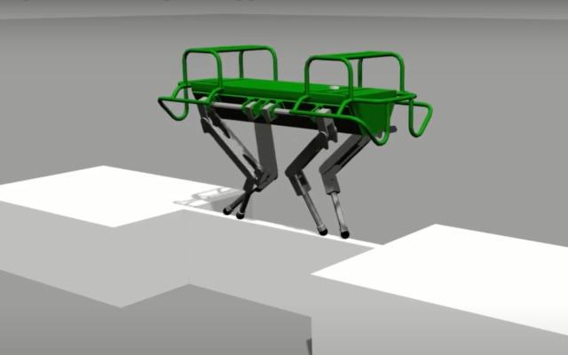 Istituto Italiano di Tecnologia four-legged robot