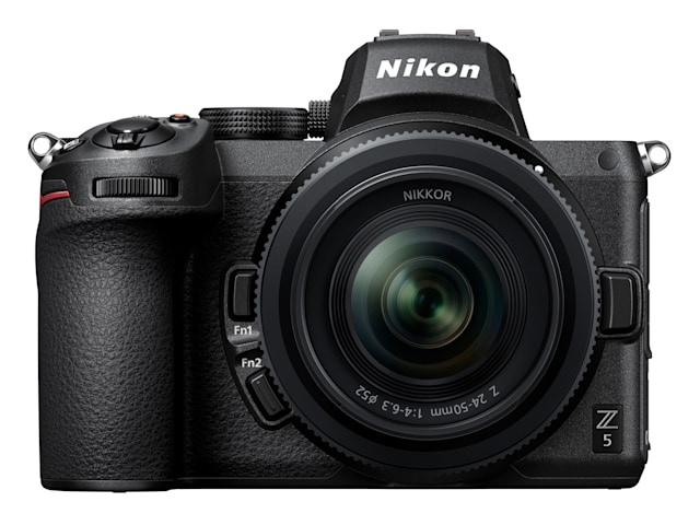 Nikon's full-frame Z5 has in-body stabilization for $1,399