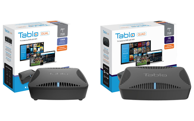 Tablo Dual 128GB and Quad 1TB
