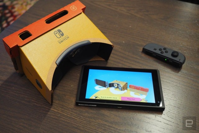 Nintendo VR headset