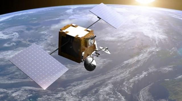 OneWeb internet satellite
