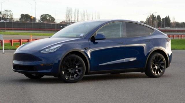 Tesla Model Y production version