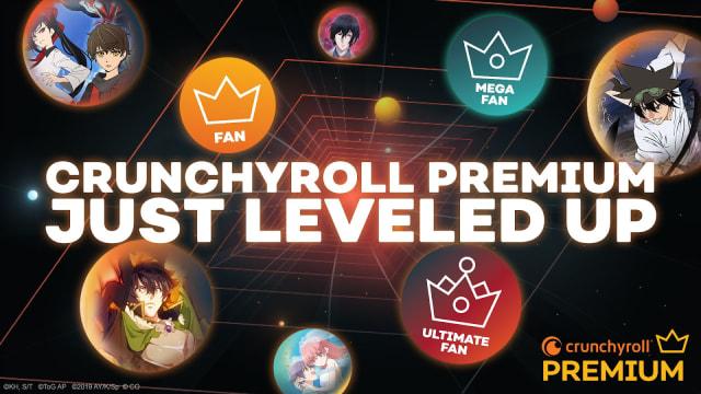 Crunchyroll subscription tiers