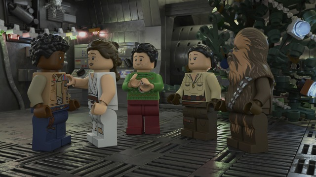 Disney teams with Lego on a new 'Star Wars Holiday Special'