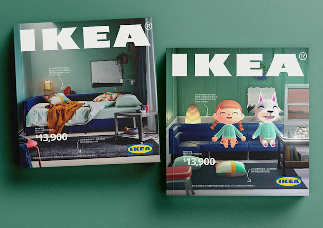 Ikea Taiwan recreates its iconic catalog using Animal Crossing