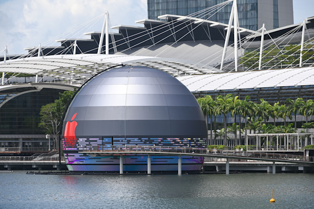 Apple is opening its first 'floating' store in Singapore – TNT