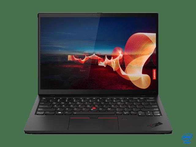 A photo of the Lenovo ThinkPad X1 Nano.