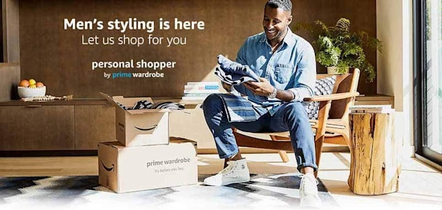 Amazon expands its personal shopper subscription to men's fashion