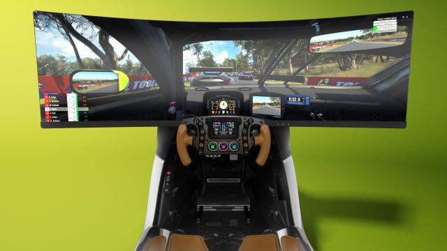 Aston Martin yarış simülatörü AMR-C01
