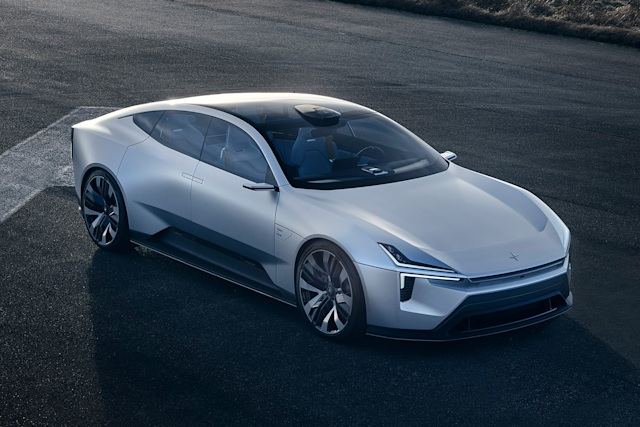 Polestar Precept concept car