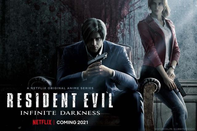 'Resident Evil: Infinite Darkness' Netflix teaser