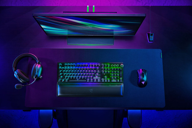 razer wireless pc gaming accessories