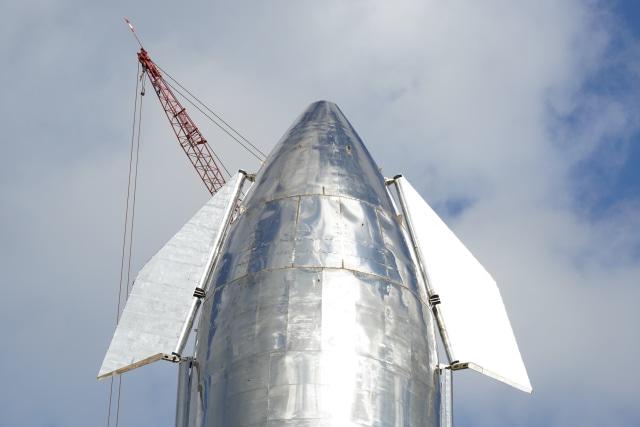SpaceX Starship prototip burun konisi