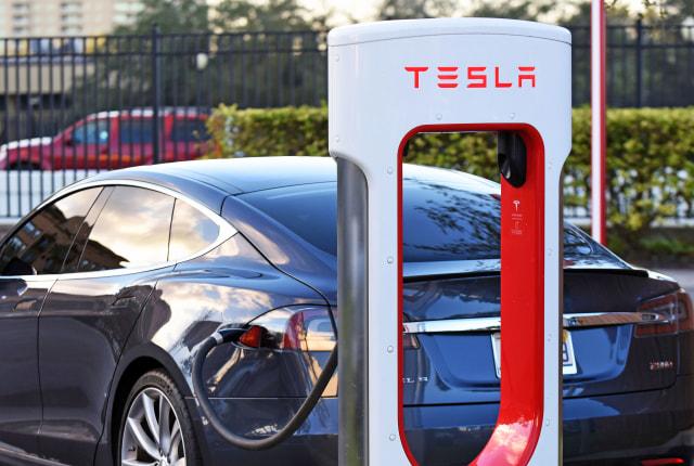 tesla car charger
