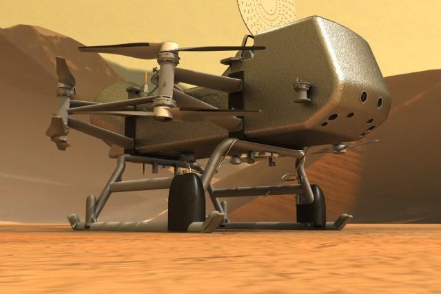 NASA's Titan drone