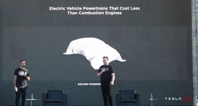 Tesla $25,000 EV