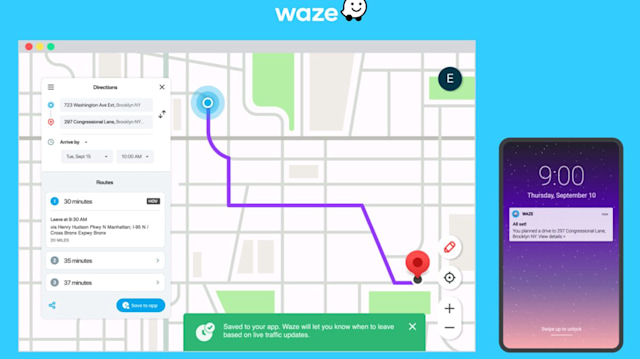Live Map Save to App