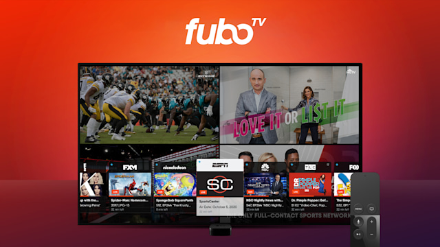 fuboTV multiview on Apple TV