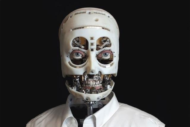 Disney Research realistic human gaze robot