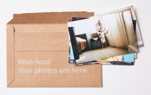 Google Photos premium print series AI-selected photos