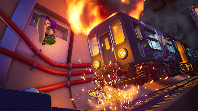 'Worms Rumble' open beta on PS4