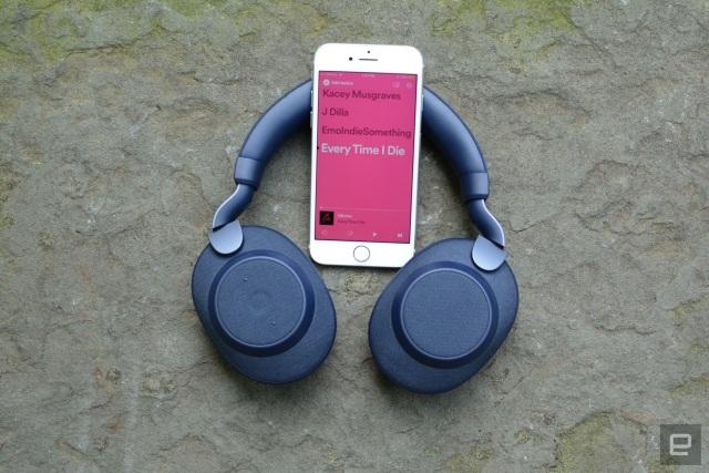 Jabra Elite 85h headphones
