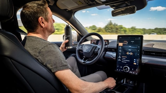 Ford's self-driving tech in action