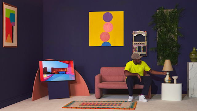 Paint your living room in Samsung paint to match your TV