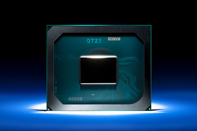 Intel Iris Xe Max dedicated graphics chip