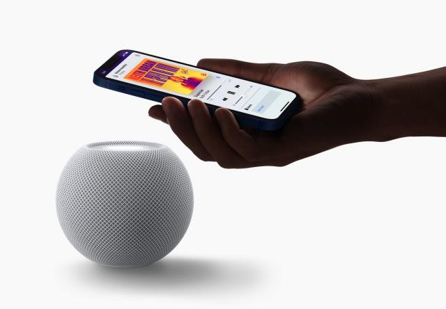 HomePod Mini and iPhone
