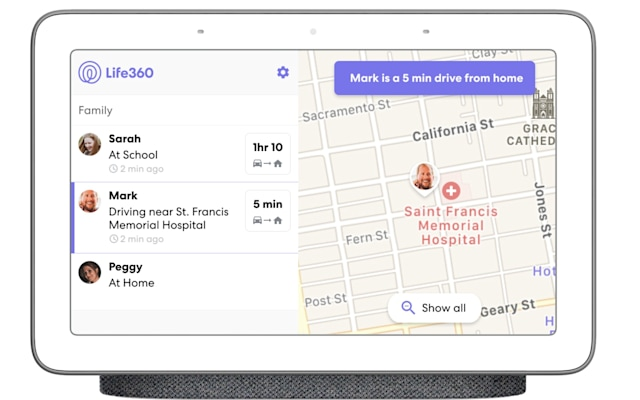 Google Assistant Life360