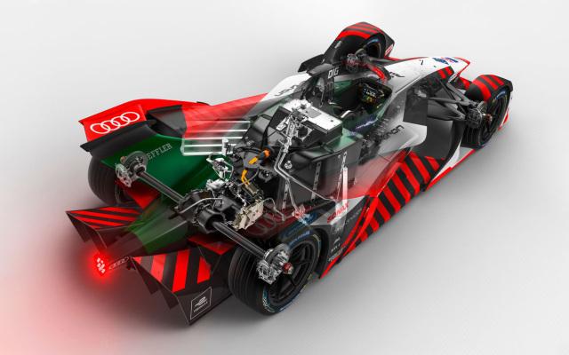 Audi's Formula E racing car.