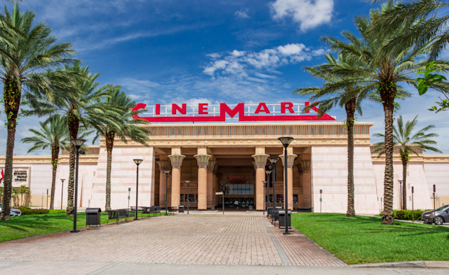 Cinemark movie theater.