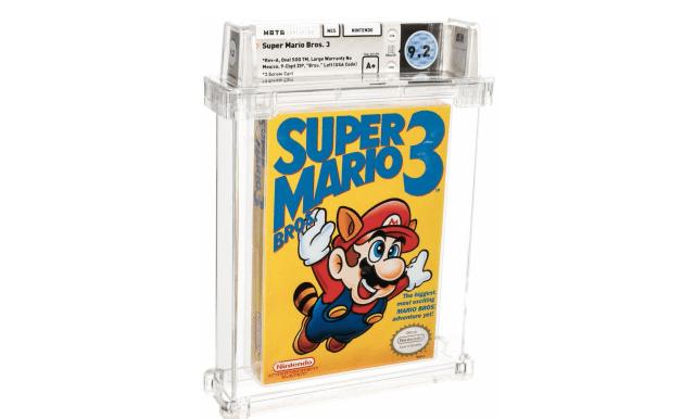 Super Mario Bros. 3 sealed