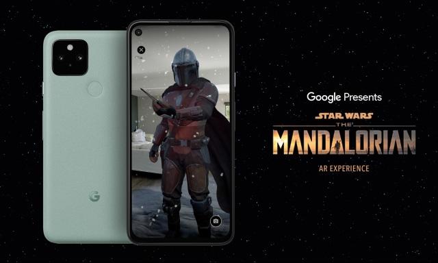 Google LucasFilm the Mandalorian AR app