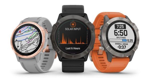 Garmin Fenix 6 smartwatches