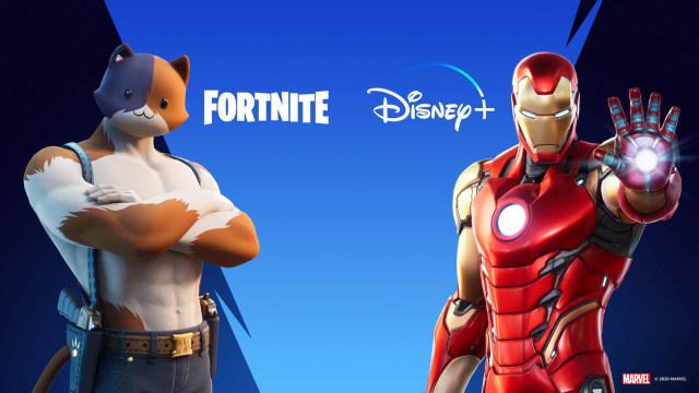 'Fortnite' Disney+ promotion