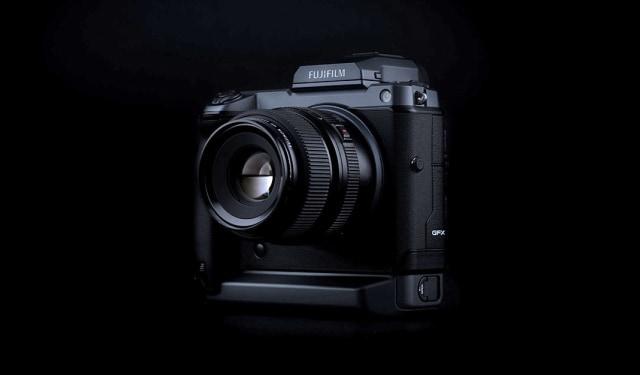 Fujifilm GFX100 camera.